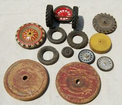 Antique Replacement Toy Wheels Tires For Cars And Trucks Vintage