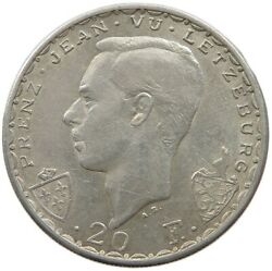 Luxembourg 20 Francs 1946 Top C49 1385