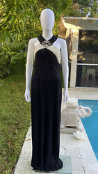 Vintage Mary Mcfadden Couture Ecening Gown 10