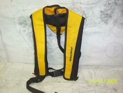 Boatersandrsquo Resale Shop Of Tx 2105 2147.05 West Marine Adult Manual Inflatable Pfd