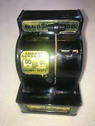 Uncle Sam's 3 Coin Register Bank Pre-owned Nice In Working Order Free Ship