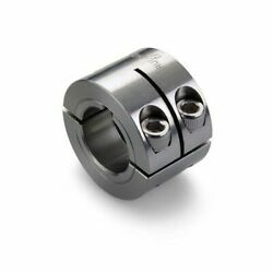 Ruland Manufacturing Wspk-28-ss Keyed Shaft Collar, 2pc Double Wide, Bore