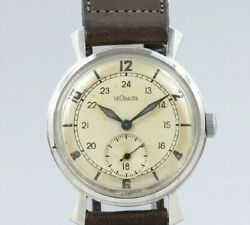 Lecoultre Small Second Original Dial Manual Winding Vintage Watch 1940and039s