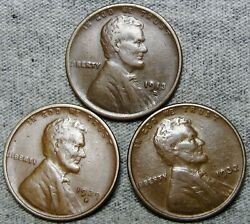 1913-d 1929-d 1932 Lincoln Cent Wheat Penny ---- Nice Lot L@@k ---- S175