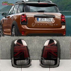 For Mini Countryman F60 Cooper Jcw Red Black Union Jack Rear Tail Light Lamp