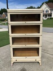 Macey Clawfoot Barrister Bookcase