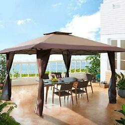 13and039 X 13and039 Large Outdoor Canopy Patio Gazebo Tent Pop-up Beach Shade Waterproof