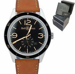 Bell And Ross Br 123-95-sp Stainless Steel Heritage 41mm Automatic Watch W/ Box