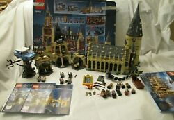 2 Sets Harry Potter Lego Hogwarts Whomping Willow And Castle 75953 75954