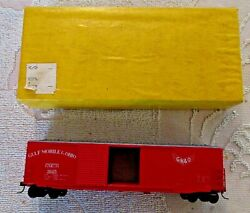 Accurate Finishing Inc Ho Scale 50ft Dbl Door Box Gulf Mobile And Ohio Rdgmando9