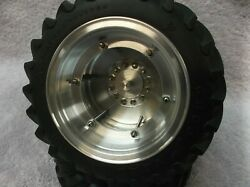 1/16 Scale Custom Plow Tractor Rims Set With Tires,deere,ih,moline,ford,oliver