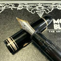 Mont Blanc Meistersteck 149 14 Gold Fountain Pen Ma-7/043