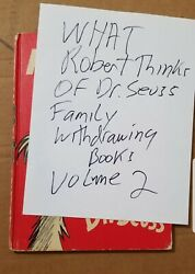 What Robert Thinks About Seuss Family Withdrawing Books Volume Ii