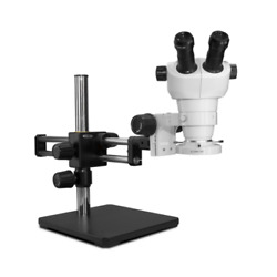 Scienscope Nz-pk5d-e1 Nz Stereo Zoom Microscope With Compact Led Light On Dual