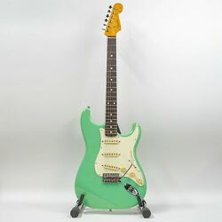 2010 Fender Stratocaster St-62 Mij Electric Guitar With Gigbag - Seafoam Green