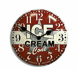 Clock Wall Fashionable Northern Europe Antique Ice Cream Advertising Clockgate