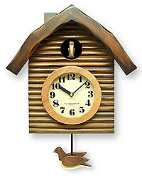 One Point At Time Handmade Reiko Clock Cuckoo Made In Japan Pendulum Dove Wall