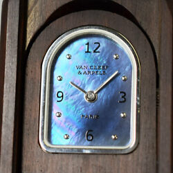Limited To 2001 Pieces Domino Clock Black Shell Wood