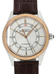 Michel Herbelin Classic Ref.1661/tr12ma Mens Automatic 39mm Leather Watch