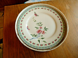 Creative Tops English Garden Four Fine China Side Plates In Box Set Of 4 W/ Box