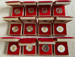 1988-2009 Royal Canadian Mint Chinese Lunar Silver 15 Coin Series