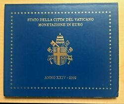 2002 First Edition Of The Vatican Euro Coins John Paul Ii Uncirculated