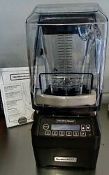 Hamilton Beach Commercial Bar Blender Eclipse Hbh750 Series New Out Of Box