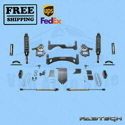 6 Perform Sys Gen Ii W/ Front Coilover And Rear Shocks Fabtech For 14-17 Gm C1500