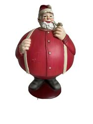Dept 56 Flip Tops Santa Christmas Candy Dish Snack Nuts Container Holder Decor