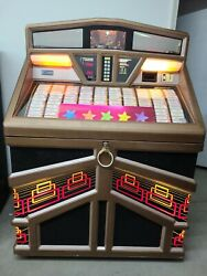 Rowe Ami R-94 Jukebox Vinyl 45 Rpm Coin Operated Gold 200 Selections Kokomo In