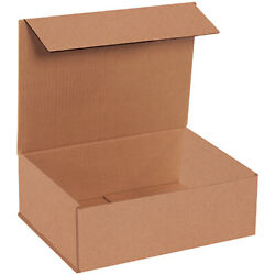 12 X 9 X 4 Kraft Corrugated Mailing/shipping Boxes Ect-32b - 500 Pieces