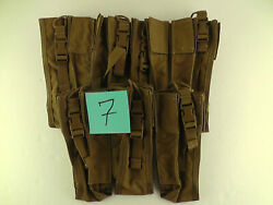 Lot Of 7 New Tactical Tailor Prc-152/thhr Molle Radio Pouch Coyote Tan Free Ship