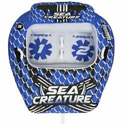 Seachoice 86903 Sea-creature Towable Tube - Open Top Boat Tube With Backrests...