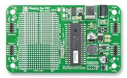 Dev Board Ready For Pic/dspic Dip40 Development Boards And Evaluation Kits