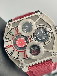 Movas Exotica Twin Timer Limited Edition 10/25 Pieces Mechanical 48mm Titanium