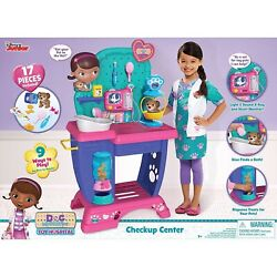 A New In Box Doc Mcstuffins Toy Hospital Check Up Center Playset