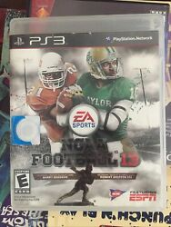 NCAA Football 13 Sony PlayStation 3 2012 PS3 Complete CIB Tested Working 2013