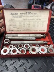 Vintage Blue Point A-157a Bushing Driver Set Machinist Tools Collectible Usa