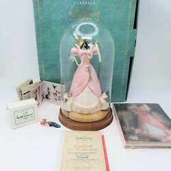 Wdcc Cinderella Dress A Lovely Dress For Cinderella Le 89/5000 Figurine + Extras