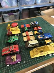 Lot Of 17 Tonka Collectable Small Cars And Trucks
