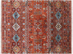 5and039 1 X 6and039 8 Khorjin Super Kazak Hand Knotted Wool Rug - Q10143