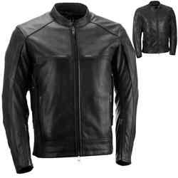 Highway 21 Gunner Leather Mens Motorcycle Street Crusing Touring Jackets