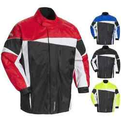 Tour Master Defender 2.0 Mens Two-piece Mens Street Motorcycle Touring Rainsuits