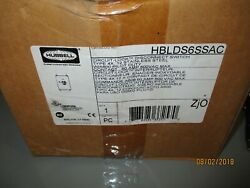 Hubbell Hblds6ssac Circuit- Lock Disconnect Switch New Material