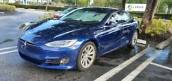 Wheels And Tires For A Tesla Model S 19 In Oem Rims And Tires.