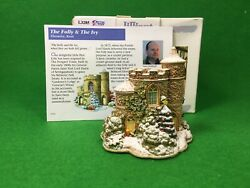 Lilliput Lane Bark The Folly And The Ivy L3285 Snowed Christmas Throwley Kent