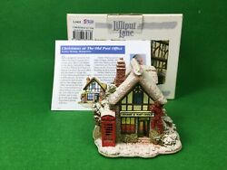 Lilliput Lane Christmas At The Old Post Office L3433 Exclusive To H Samuel 2011