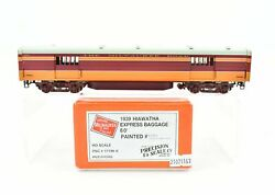 Ho Brass Psc Precision Scale Milwaukee Road 1939 Hiawatha 60' Express Baggage Fp