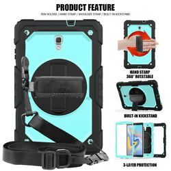 Pour Samsung Galaxy Tab A 2018 T590 T595 T597 10.5and039and039 Coque Avec Hand Strap Cou