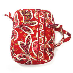 ❤️ Vera Bradley Rosy Posies Good Book Bible Cover Red Pink Paisley